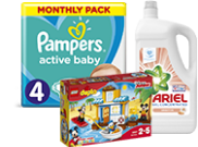 Pampers voucher na LEGO