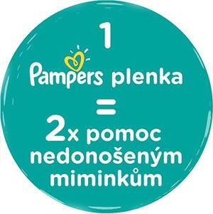 Pampers pomáhá