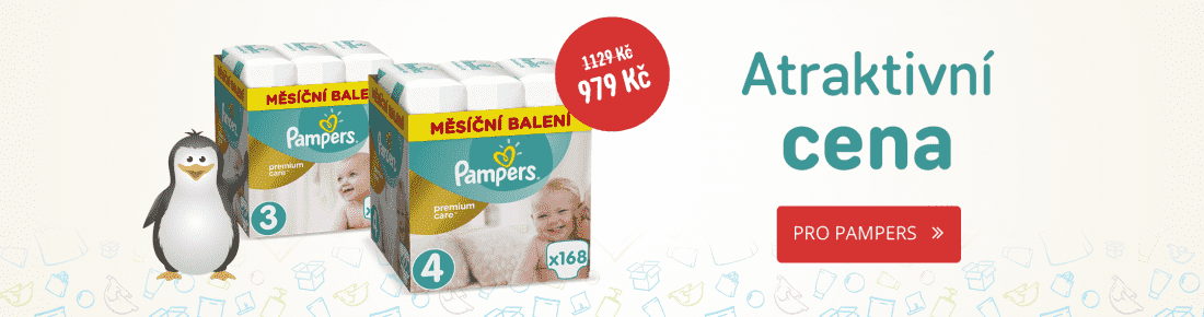 Super akce na Pampers Premium Care a Premium Pants