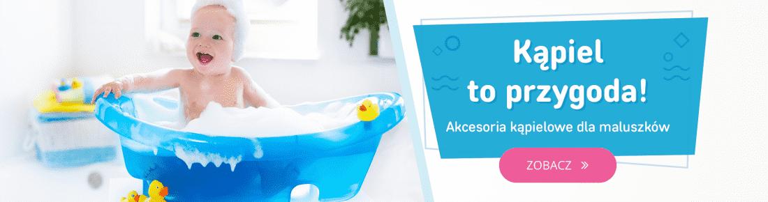 Akcesoria kąpielowe dla dzieci