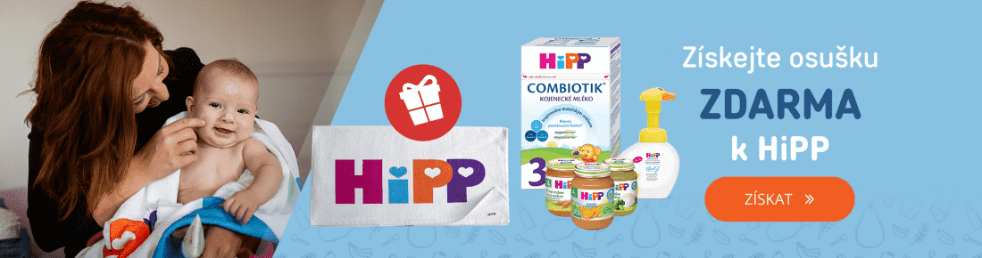 HiPP + dárek