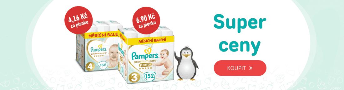 Pampers Premium Care v akci!