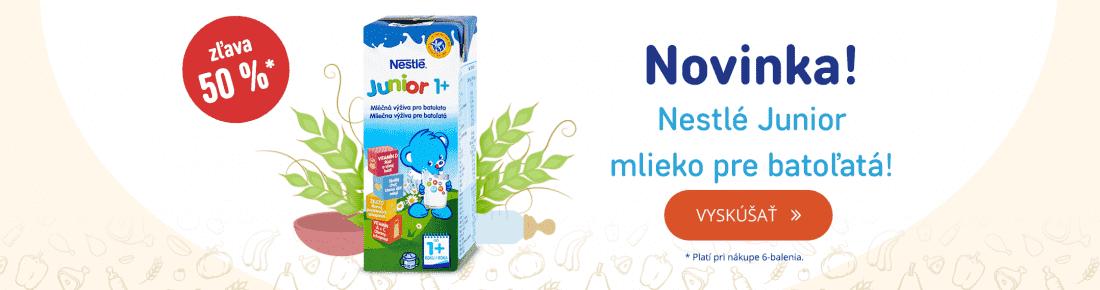 Novinka: Nestlé Junior