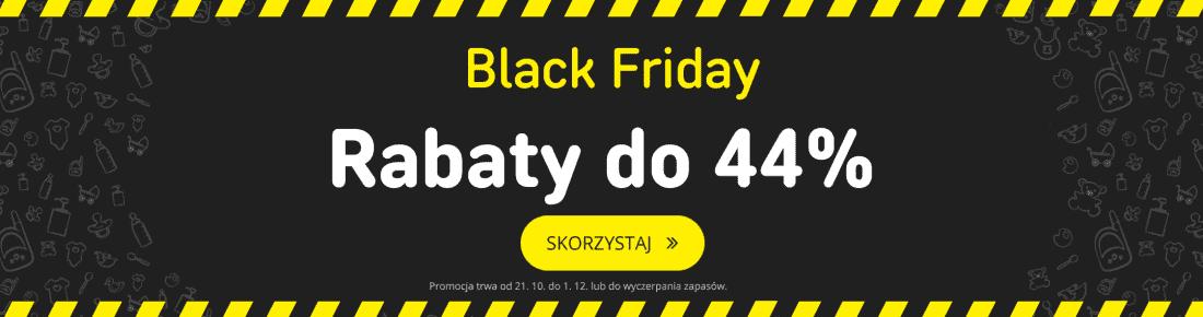 Black Friday z rabatami do 44 %