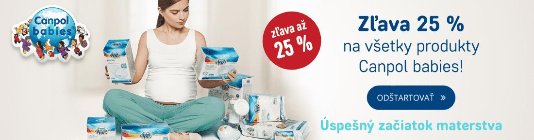 Zľava 25% na všetky produkty Canpol Babies!