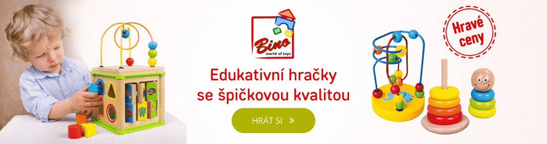 Edukativní hračky Bino