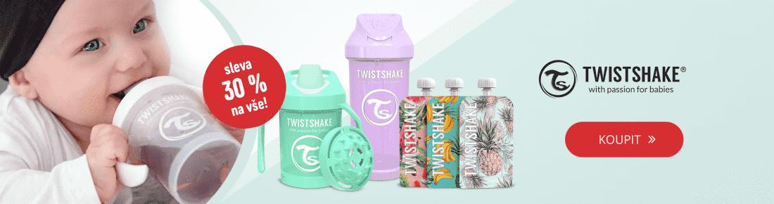 Švédská kvalita Twistshake s 30% slevou