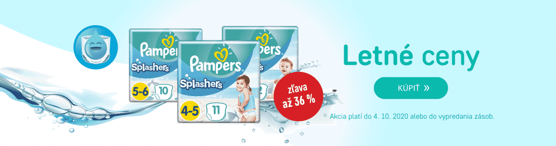 PAMPERS Splashers v akcii