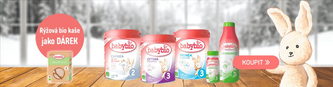 Babybio mléko s dárkem