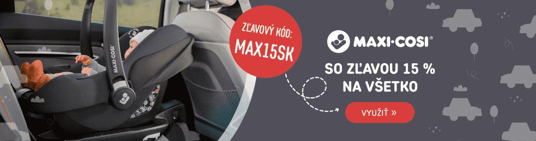 Maxi-Cosi so zľavou!