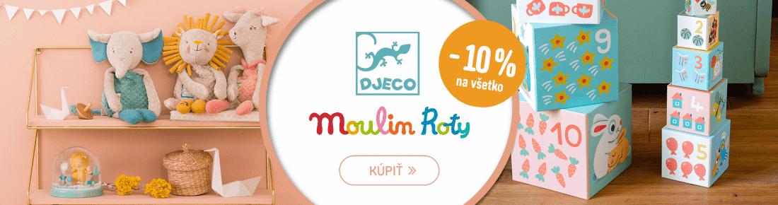Djeco i Moulin Roty −10 %