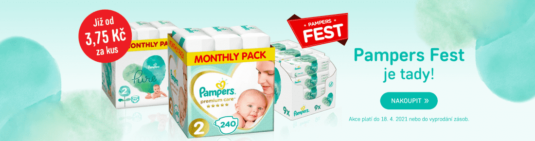 Pampers fest!