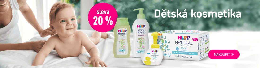 HiPP kosmetika -20 %