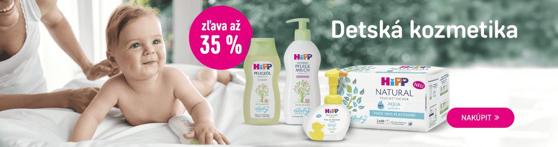 HiPP kozmetika až -35 %