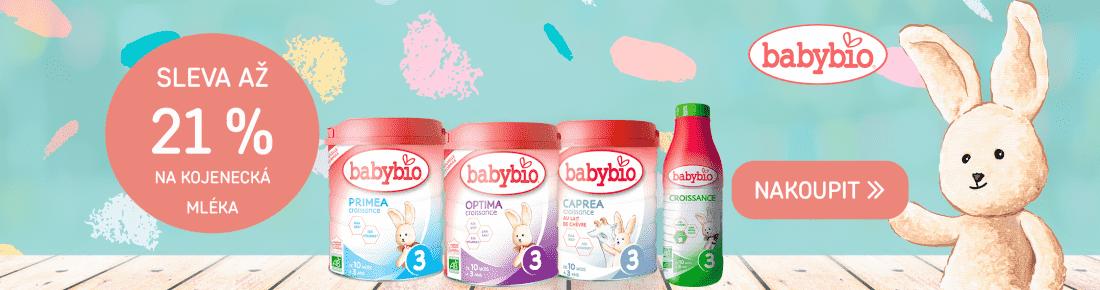Babybio mléka výhodně
