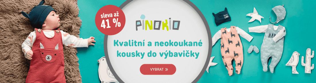 Pinokio výprodej