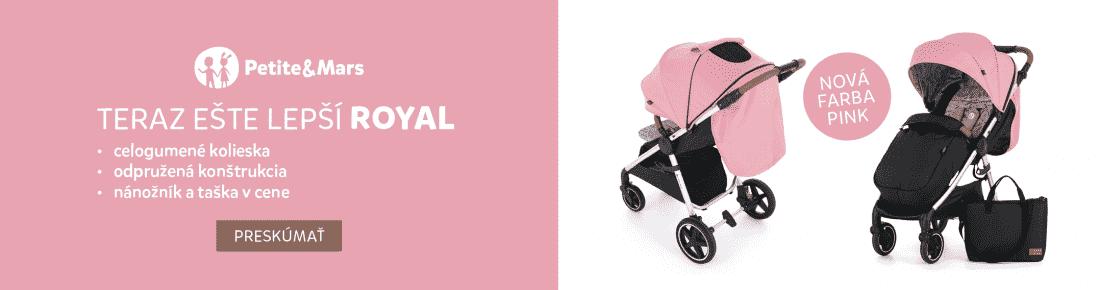 Petite&Mars Royal Pink