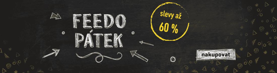 Feedo pátek - slevy až 60 %