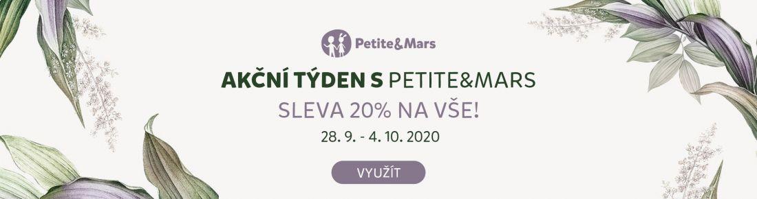 Petite&Mars se slevou 20 %