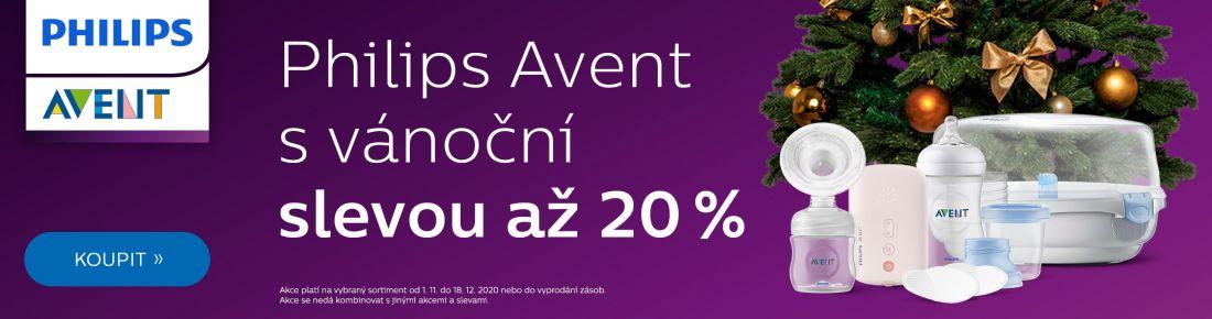 Philips Avent se slevou 20 %