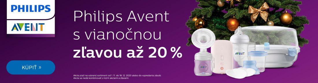 Philips Avent so zľavou 20 %