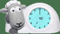 Zazu Ovečka SAM sivá - tréningový budík s nočným svetlom