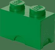 LEGO® Úložný box velikost 2 tmavě zelená