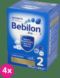 4x BEBILON 2 (1200 g) Pronutra+ Mleko dla niemowląt powyżej 6. miesiąca