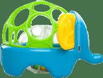 OBALL Hračka zvířátko Rollie Rattles™, 3m+ (slon)