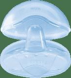 NUK Prsní klobouček silikonový + box, 2 ks, velikost L