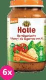 6x HOLLE Bio Zeleninové rizoto - zeleninový příkrm, 220g