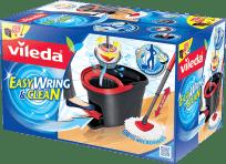 VILEDA Mop obrotowy Easy Wring and Clean – zestaw z wiadrem