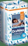 HUGGIES® DryNites pro chlapce 3-5 let (16-23 kg), 10 ks - kalhotkové pleny