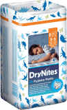 HUGGIES® DryNites pre chlapcov 3-5 rokov (16-23 kg), 10 ks - nohavičkové plienky