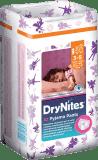 HUGGIES® DryNites dla dziewczynek 3-5 lat, (16-23 kg) 10 szt. - Superchłonne majteczki