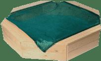 WOODY Drewniana piaskownica