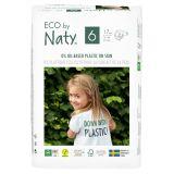 NATY NATURE BABYCARE 6 JUNIOR, 17 ks (16+ kg) - jednorázové pleny