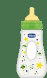 CHICCO Láhev Well-Being bez BPA kaučukový dudlík rychlý průtok slza 240 ml