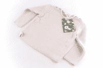 Sweter wkładany przez głowę Puri Organic