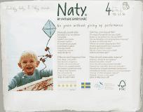 NATY NATURE BABYCARE 4 PANTS (8-15 kg), 22 ks - kalhotkové pleny
