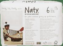 NATY NATURE BABYCARE 6 PANTS , 18 ks (16+ kg) - kalhotkové pleny