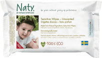 NATY NATURE BABYCARE ECO Sensitive 56 ks, bez vůně - vlhčené ubrousky