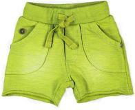 BOBOLI Bavlněné kraťasy, vel. 74 cm - zelená, kluk