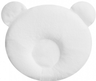 CANDIDE Panda vankúšik 21 x 19cm, biely