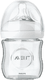 AVENT Dojčenská fľaša 0m+, Natural 120 ml sklenená, 1 ks
