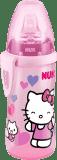 NUK First Choice Fľaša Active Cup Hello Kitty, PP, 300 ml, silikónové pítko (6-18 m)