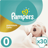 PAMPERS Premium Care 0 MICRO 30 szt. (do 2,5kg) - pieluchy jednorazowe
