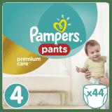 PAMPERS Premium Care Pants 4 MAXI 44ks (9-14 kg) - plienkové nohavičky