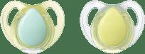 TOMMEE TIPPEE Cumlík Cherry latex 2 ks 0-6m Basic-chlapec