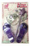 ALLTOYS Korunka a střevíčky s hůlkou set fialová